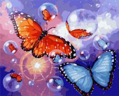"""РН GX22072 """"Бабочки и мыльные пузыри"""", 40х50 см"""