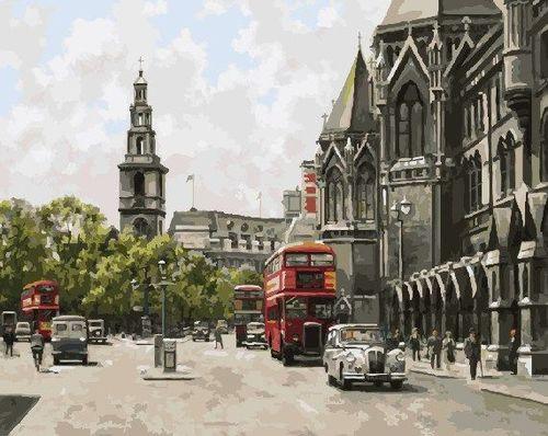 """РН GX9793 """"Старый Лондон"""", 40х50 см"""