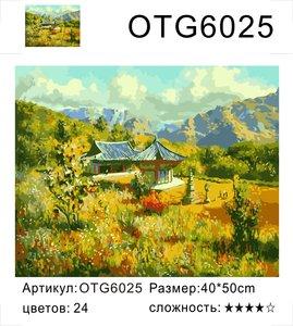 """РН OTG6025 """"Пагода на поляне"""", 40х50 см"""