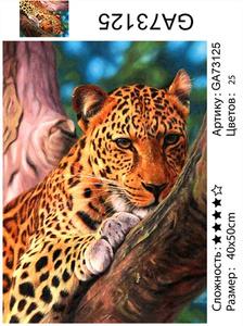 """АМ45 GA73125 """"Леопард"""", 40х50 см"""