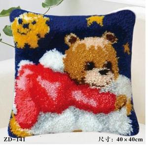 "ZD-141 ""Медвежонок в красном"", 40х40 см"