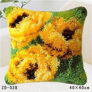 "ZD-528 ""Три желтых цветка"", 40х40 см"