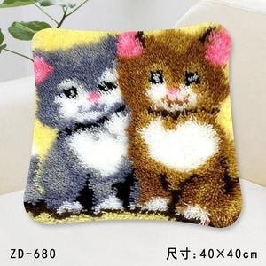 """ZD-680 """"Два котенка"""", 40х40 см"""
