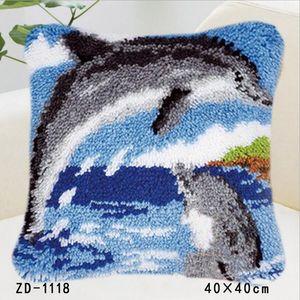 """ZD-1118 """"Два дельфина"""", 40х40 см"""