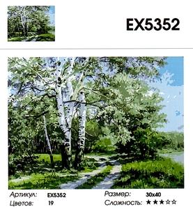 """РЗ ЕХ5352 """"Березы"""", 30х40 см"""