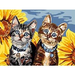 """РН ЕХ5642 """"Два котенка"""", 30х40 см"""