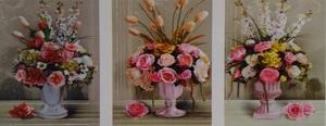 """АМТ N1010 """"Букеты в розовых вазах"""", 40х50х3"""