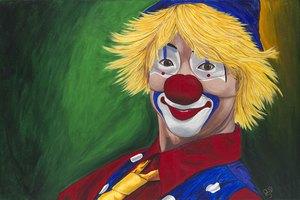 "РН GХ5264 ""Счастливый клоун"", 40х50 см"