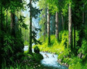 "РН GX5665 ""Лесной ручей"", 40х50 см"