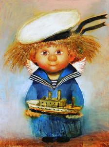 """РН GХ33264 """"Домовенок-морячок"""", 40х50 см"""