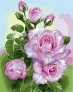 """РН GX22079 """"Ветка розовых роз"""", 40х50 см"""