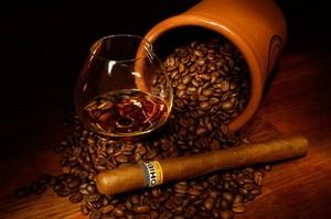 """РН GX22570 """"Кофе, виски, сигара"""", 40х50 см"""