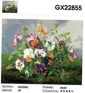 "РН GX 22855 ""Анютины глазки на земле"", 40х50 см"