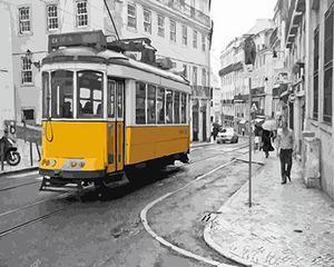 "РН GX23801 ""Желтый трамвай"", 40х50 см"