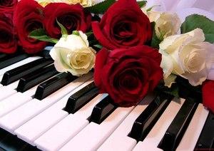 """РН GX24565 """"Розы на клавишах"""", 40х50 см"""