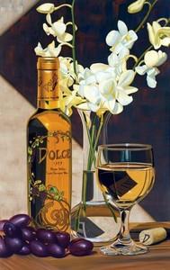 """РН GX24651 """"Вино и орхидея"""", 40х50 см"""