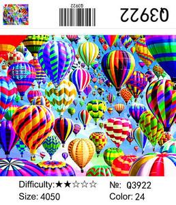 """РН Q3922 """"Разноцветные воздушные шары"""", 40х50 см"""