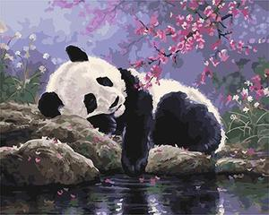 "РН GX25108 ""Панда спит"", 40х50 см"