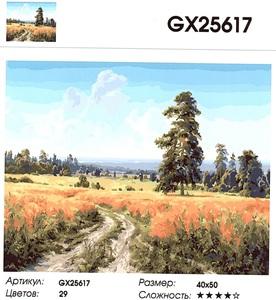 """РН GX25617 """"Дорога в поле"""", 40х50 см"""